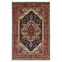 ECARPETGALLERY One of a Kind Serapi Heritage 5'10 x 9' Area Rug in Copper/Navy