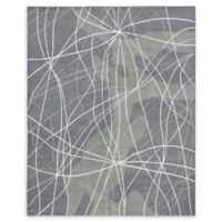 "ECARPETGALLERY Joshua Dhurries 7'11"" x 9'11"" Area Rug in Dark Grey"