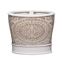 Popular Bath Cascade Toothbrush Holder in Beige