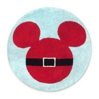 """Disney® Holiday 24"""" Round Bath Rug"""