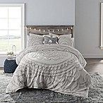 Anthology™ Tufted Medallion Queen Comforter Set in Light Grey