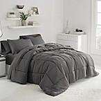 UGG® Sunwashed Twin/Twin XL Comforter Set in Charcoal