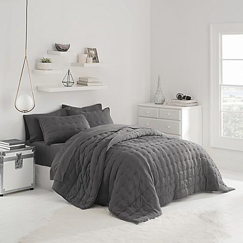 Ugg 174 Sunwashed Quilt Set Bed Bath Amp Beyond