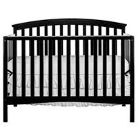 Dream On Me Eden 5-in-1 Convertible Crib in Black
