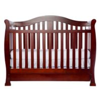 Dream On Me Addison 5-in-1 Convertible Crib in Cherry