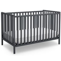 Delta™ Heartland 4-In-1 Convertible Crib in Grey