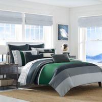 Nautica® Prescott Reversible Full/Queen Comforter Set in Blue