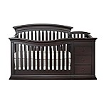 Sorelle Sedona 4-in-1 Convertible Crib and Changer in Espresso