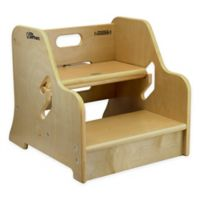 The Little Partners™ StepUp Step Stool in Natural