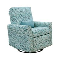 The 1st Chair™ Keeton Swivel Recliner in Neptune