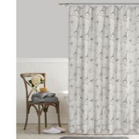 Postale Tower Print 72-Inch x 84-Inch Shower Curtain