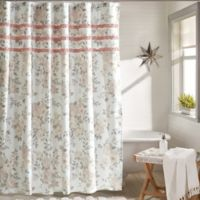 Vintage Bouquet Shower Curtain in Petal