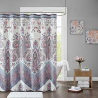 Intelligent Design Kylie Shower Curtain in Lilac