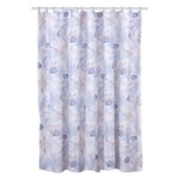 Levtex Home Sag Harbor Taupe Shower Curtain in Blue