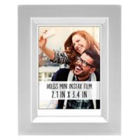 Gallery 2.5-Inch x 3.5-Inch Wood Frame in Silver