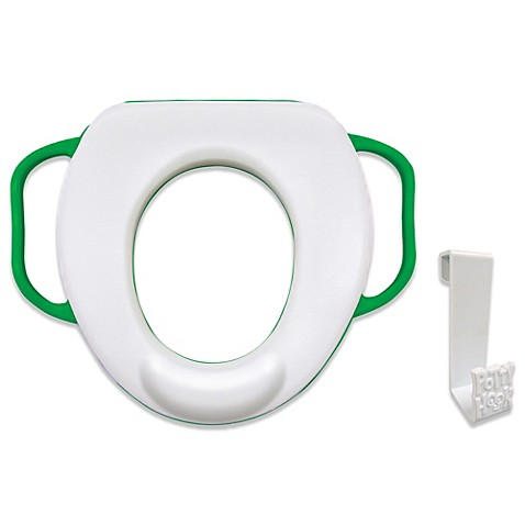 buy ginsey cushion potty seat with deflector potty hook from bed bath beyond. Black Bedroom Furniture Sets. Home Design Ideas