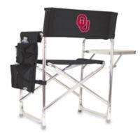 Picnic Time® University of OklahomaCollegiate Folding Sports Chair in Black