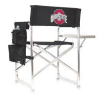 Picnic Time® Black Collegiate Folding Sports Chair - Ohio State