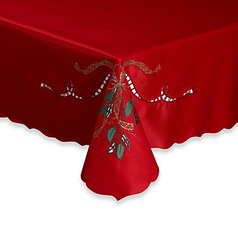 Lenox® Holiday Nouveau Cutwork 70-Inch Round Tablecloth