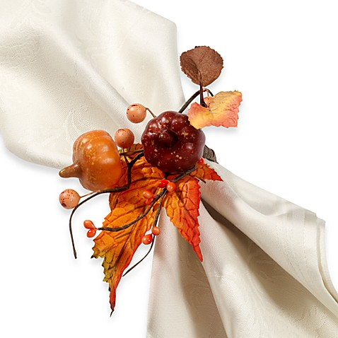 Bed Bath And Beyond Thanksgiving Napkin Rings