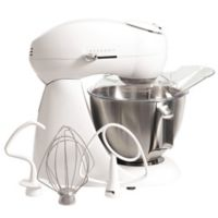 Hamilton Beach® Eclectrics® 4.5 qt. All-Metal Stand Mixer in White