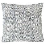 SPUN™ by Welspun Waste Not™ Zig Zag Square Throw Pillow in Navy/White