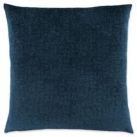 Monarch Specialties Mosaic Velvet Square Decorative Pillow in Blue