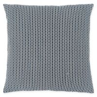 Monarch Specialties Abstract Dot Square Decorative Pillow in Blue