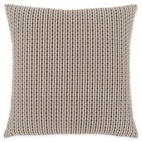 Monarch Specialties Abstract Dot Square Decorative Pillow in Brown