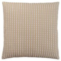 Monarch Specialties Abstract Dot Square Decorative Pillow in Taupe