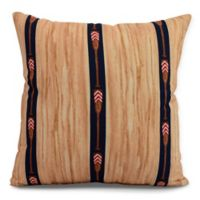 E by Design Nantucket Oar Stripe Trio Square Throw Pillow in Navy