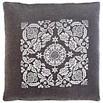 Surya Smithsonian Transitional Square Throw Pillow in Grey