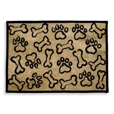 Park B. Smith Puppy Paws 13 Inch X 19 Inch Pet Mat