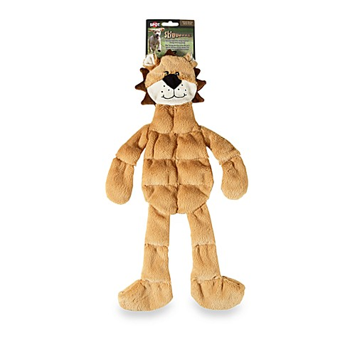 Spot Skinneeez Plush Pet Toy in Lion