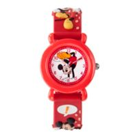 Disney® Mickey Mouse Children's 32mm 3D Time Teacher Watch in Red