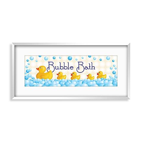 duckie bath i wall art bed bath beyond. Black Bedroom Furniture Sets. Home Design Ideas