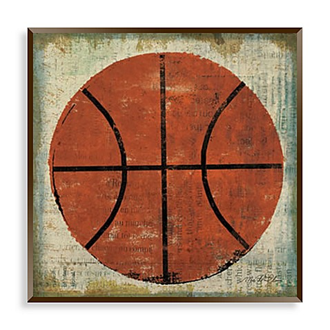Vintage sports ii wall art buybuy baby for Vintage basketball wall art