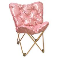 Butterfly Chair in Rose Gold