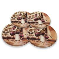 Range Kleen® Decorative Ripe from the Vine Burner Covers (Set of 4)