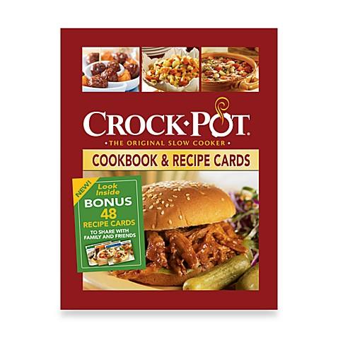 Crock pot cookbook recipe cards bed bath beyond crock pot cookbook recipe cards forumfinder Images