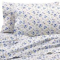 Home Collection Blossoms California King Sheet Set in Light Blue