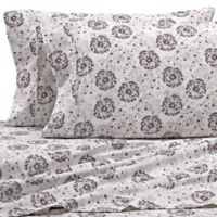 Home Collection Make A Wish Full Sheet Set in Light Grey