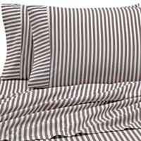 Ribbon Queen Sheet Set in Grey