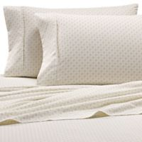 Home Collection Houndstooth Queen Sheet Set in Light Grey