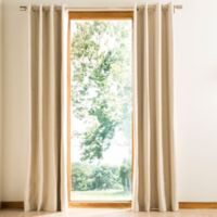 Safavieh Nealonia 84-Inch Grommet Room Darkening Window Curtain Panel in Ivory