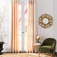 Safavieh Lamia 96-Inch Grommet Window Curtain Panel in Natural