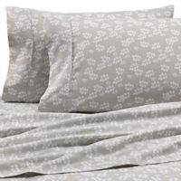 Home Collection Wheat King Sheet Set in Grey