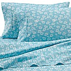 Home Collection Wheat King Sheet Set in Pale Blue