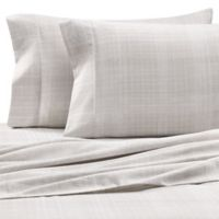 Home Collection Thatch King Sheet Set in Grey