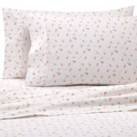 Home Collection Floral California King Sheet Set in Pink